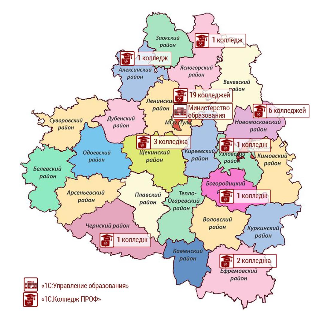 вид тульская область на карте россии фото бывают разных